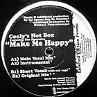 COOLY'S HOT BOX : MAKE ME HAPPY