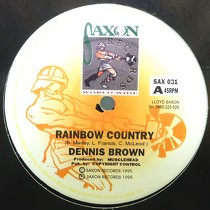 DENNIS BROWN : RAINBOW COUNTRY