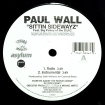 PAUL WALL  ft. BIG POKEY OF THE S.U.C. : SITTIN' SIDEWAYZ
