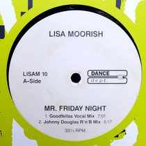 LISA MOORISH : MR FRIDAY NIGHT  (REMIX)