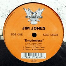 JIM JONES : EMOTIONLESS