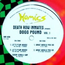DOGG POUND : DEATH ROW INMATES PRESENTS DOGG POUND  VOL.1