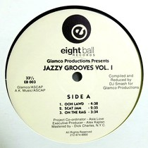 GLAMCO PRODUCTIONS  presents : JAZZY GROOVES  VOL. 1