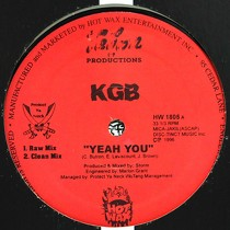 KGB : YEAH YOU  / HEADS ON