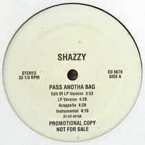 SHAZZY : PASS ANOTHA BAG  / PUMP MY BROTHER (R...