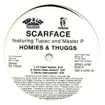 SCARFACE  ft. TUPAC AND MASTER P : HOMIES & THUGGS