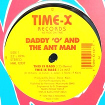 DADDY 'O'  AND THE ANT MAN : THIS IS BASS
