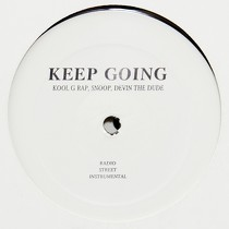 KOOL G RAP : KEEP GOING  / MY LIFE (REMIX)