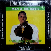 BOOGIE DOWN PRODUCTIONS : MAN & HIS MUSIC