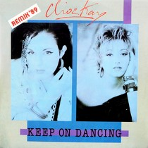 CLIO & KAY : KEEP ON DANCING  (REMIX '89)