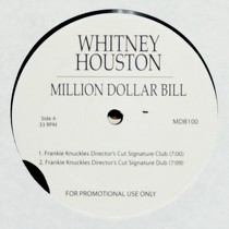 WHITNEY HOUSTON : MILLION DOLLAR BILL