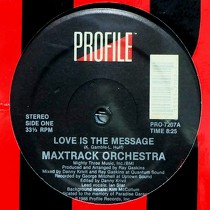 MAXTRACK ORCHESTRA : LOVE IS THE MESSAGE