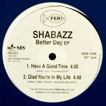 SHABAZZ : BETTER DAY  EP