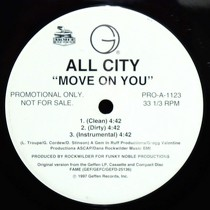 ALL CITY : MOVE ON YOU