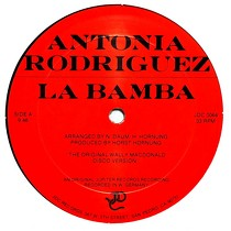 ANTONIA RODRIGUEZ  / DEE D. JACKSON : LA BAMBA  / S.O.S. (LOVE TO THE RESCUE) (MEGAMIX)