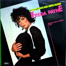 FREDA PAYNE : HAPPY DAYS ARE HERE AGAIN  / I'LL DO ANYTHING FOR YOU