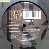 KORDA : MOVE YOUR BODY (TO THE SOUND)