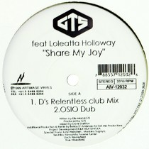 GTS  ft. LOLEATTA HOLLOWAY : SHARE MY JOY
