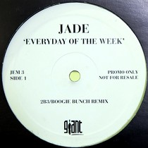 JADE : EVERYDAY OF THE WEEK