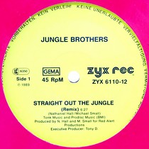 JUNGLE BROTHERS : STRAIGHT OUT THE JUNGLE