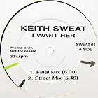 KEITH SWEAT : I WANT HER