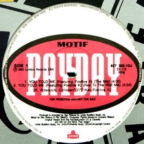MOTIF  ft. POSITIVE K. : YOU TOLD ME