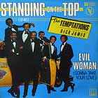 TEMPTATIONS  ft. RICK JAMES : STANDING ON THE TOP